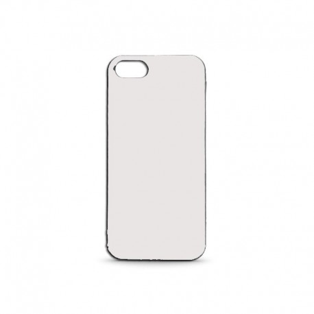 Coque Silicon Iphone 5/5S Blanc